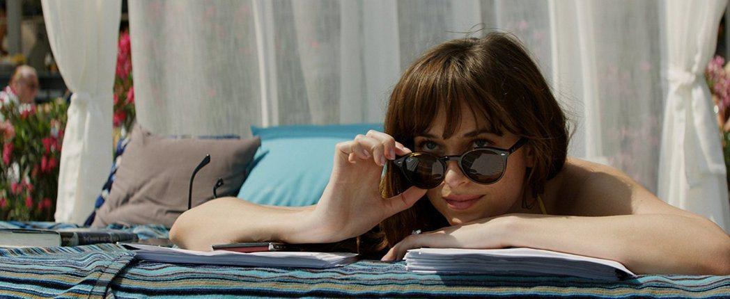 達珂塔強生今年將在「格雷」系列電影完結篇再亮相。圖/摘自imdb