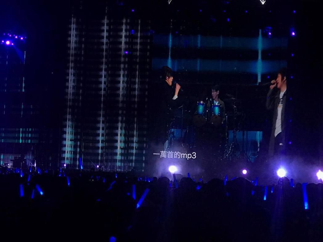 林憶蓮擔任五月天5日演唱會嘉賓。圖/讀者提供