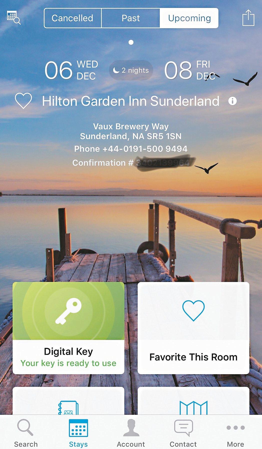 希爾頓酒店集團(Hilton)宣布2018年推出「Connected Room」...