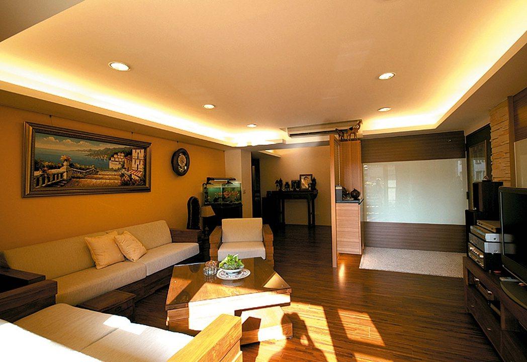 黃色、奶茶色等溫暖色系可讓家看起來更溫暖。 永慶居家/提供