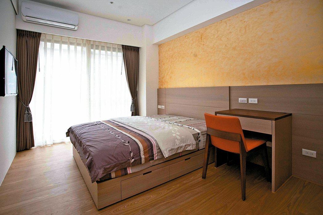 冬季使用暖色床組還具有幫助安定睡眠的效果。 永慶居家/提供