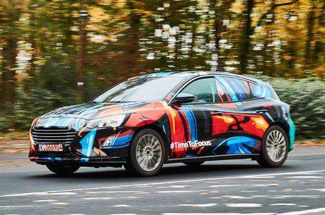 彩繪勁裝藏不住的帥氣 全新Ford Focus即將發表!