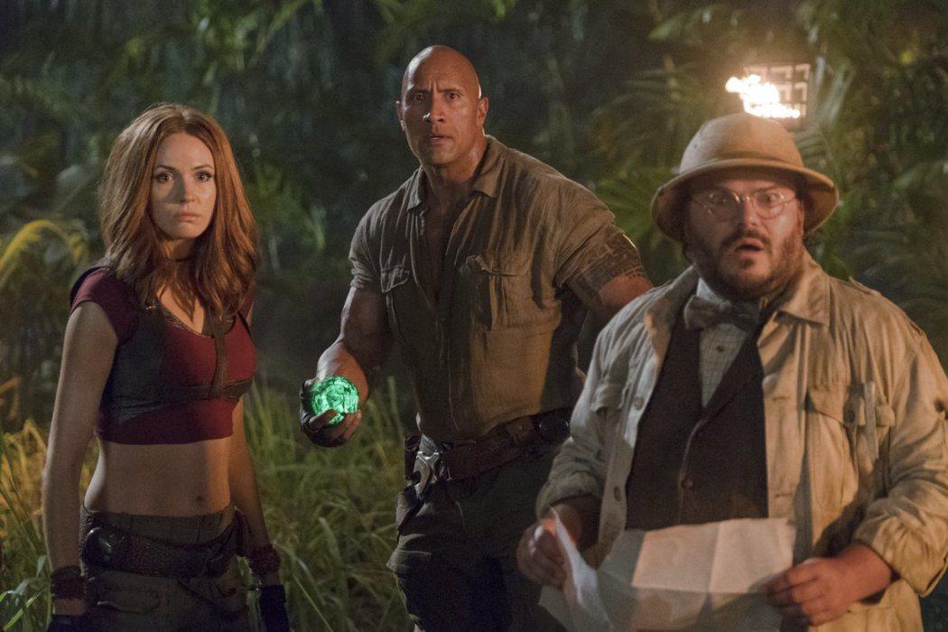 「野蠻遊戲:瘋狂叢林」本周末可望正式登上北美票房冠軍。圖/索尼提供