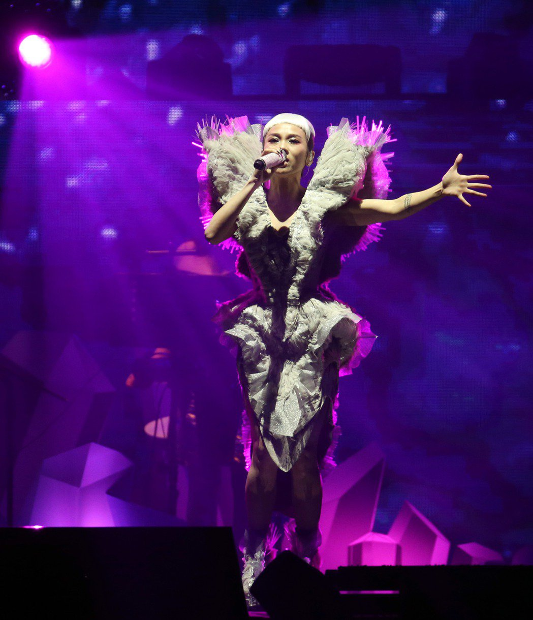 蔡健雅「列穆尼亞」巡演,重回小巨蛋,今日舉辦最終場演出。記者陳瑞源/攝影