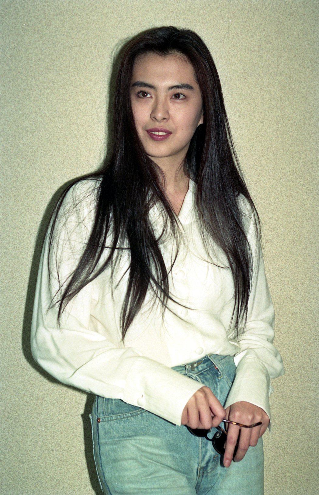 王祖賢二十多年前是華語片影壇搶手紅星。圖/本報資料照片