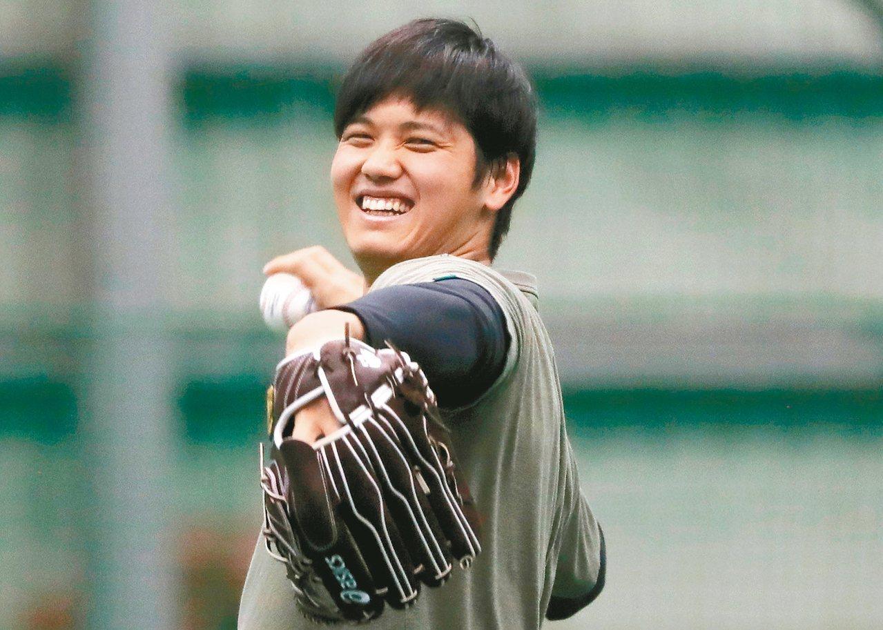 天使總經理將前往日本,了解如何讓大谷翔平在大聯盟繼續發揮「投打二刀流」。 路透