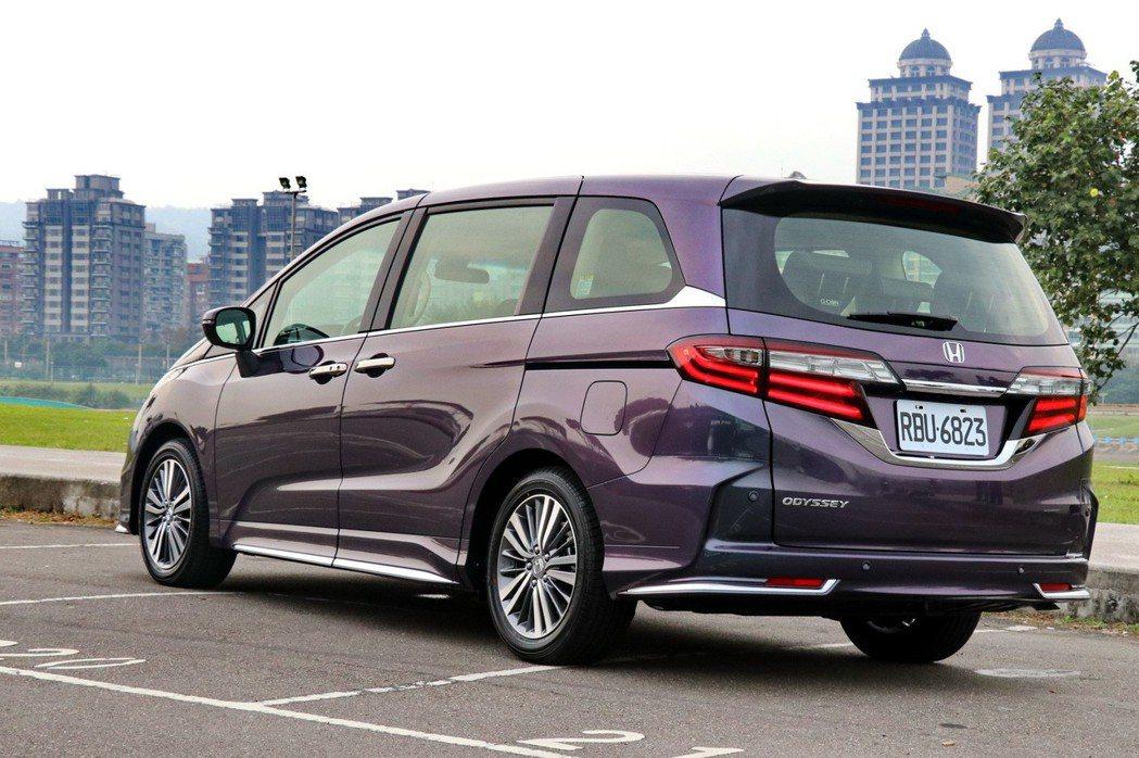Honda Odyssey是台灣MPV市場的代表性車款。 記者陳威任/攝影