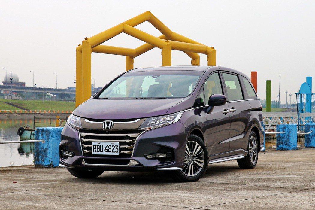 Honda Odyssey。 記者陳威任/攝影