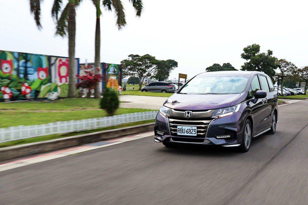 Honda Odyssey APEX 七人座。 記者陳威任/攝影