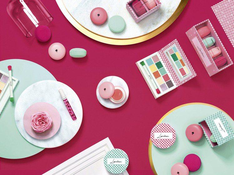 「法式甜點綺想」春季限量彩妝。圖/蘭蔻提供
