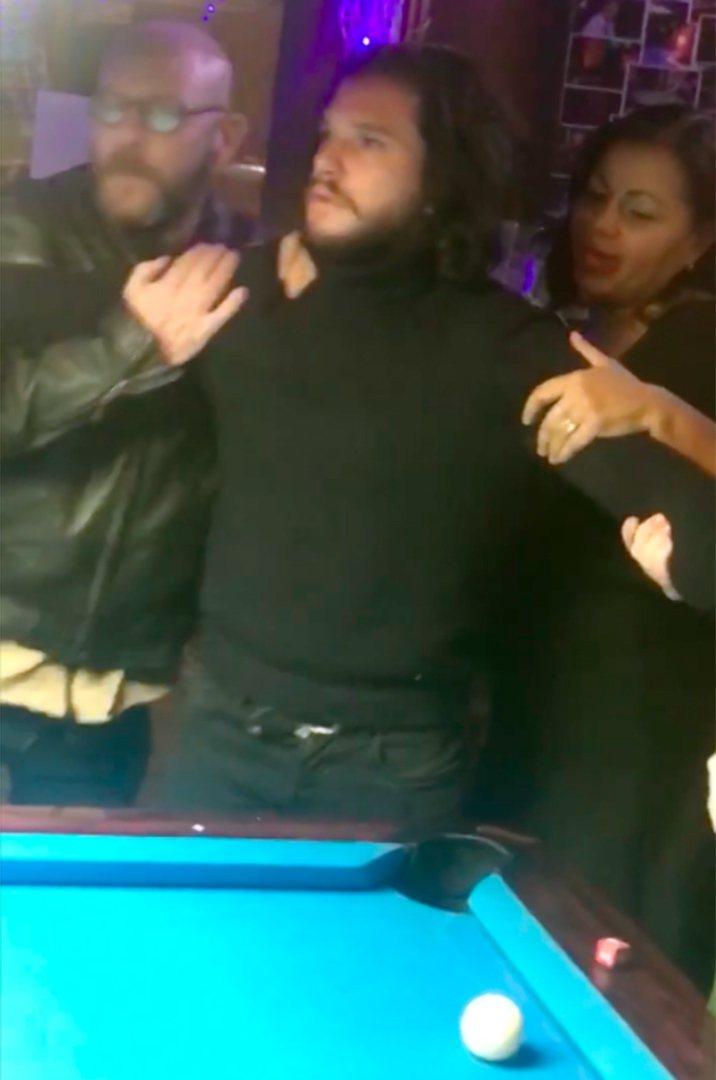 「冰與火之歌」男星基特哈靈頓被爆出酒醉後大鬧酒吧,當場被店家掃地出門。圖/達志影...
