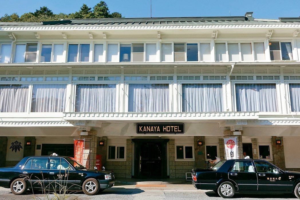 日光金谷飯店擁有近150年歷史。 記者沈佩臻/攝影