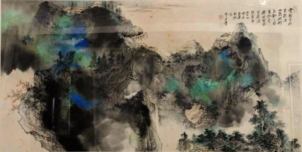 這幅張大千的名畫因不識貨,第一次拍賣3萬元乏人問津,最後以400萬元高價成交。 ...