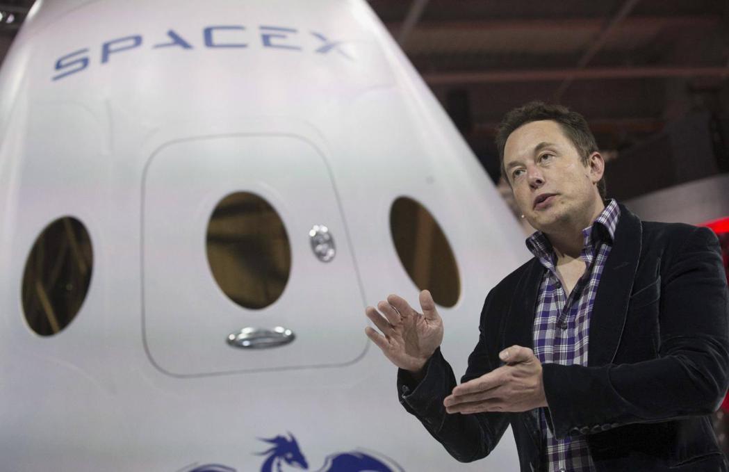 SpaceX由美國億萬富豪穆斯克一手創立。 路透