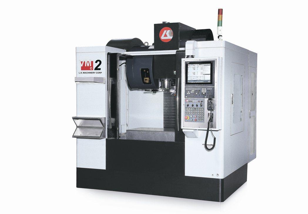 力勁機械所推出的高CP值VM-2立式數控加工中心機,受到市場青睞。 業者/提供
