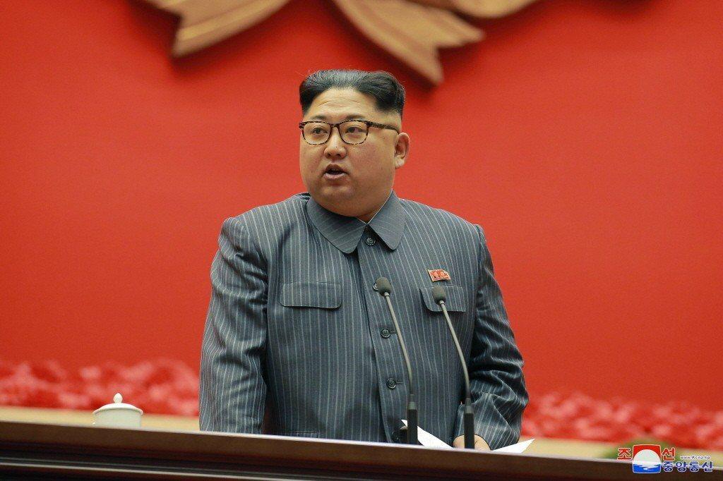 北韓最高領導人金正恩。美聯社