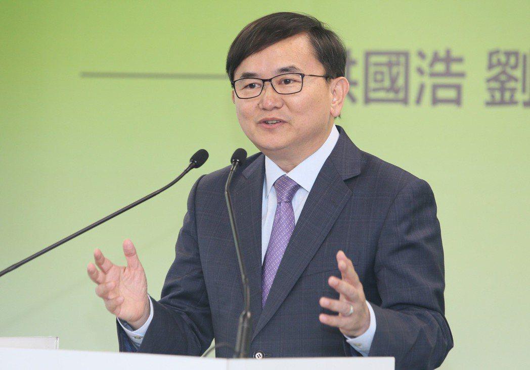 立委劉櫂豪。 聯合報系資料照片/記者陳柏亨攝影