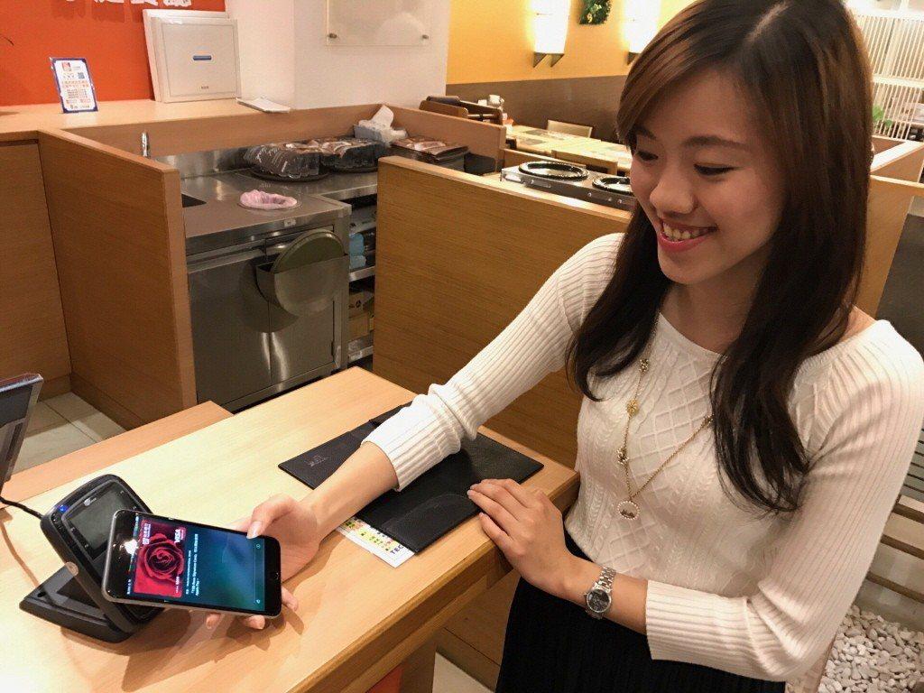 手機不只是通訊設備,還能用來付款。 圖/台新銀行提供