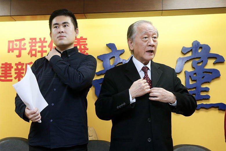 在這次的搜索事件後,新黨三壯士的相關訊息更在中國網上引發巨量轉載,甚至被形容為抵抗民進黨政府的英雄人物。 圖/聯合報系資料照