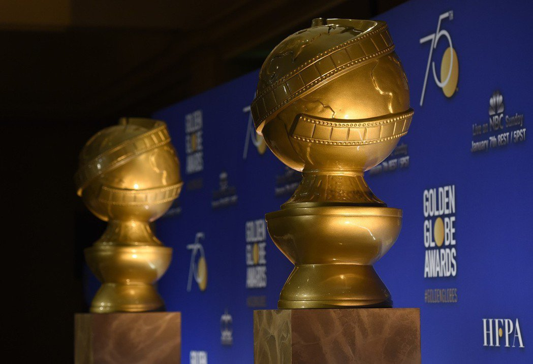 第75屆金球獎頒獎典禮在加州洛杉磯舉行。 圖/美聯社