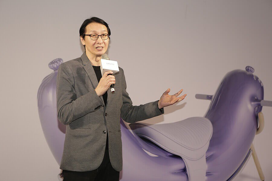 旺旺中時媒體集團發言人暨公共事務處劉善群處長。圖:時藝多媒體提供。