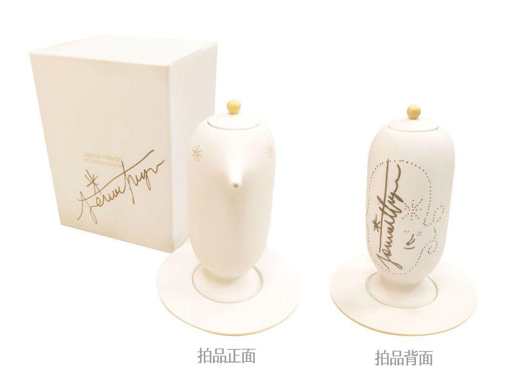 《上出長右衛門窯│鳥型醬油罐 設計師親簽版》