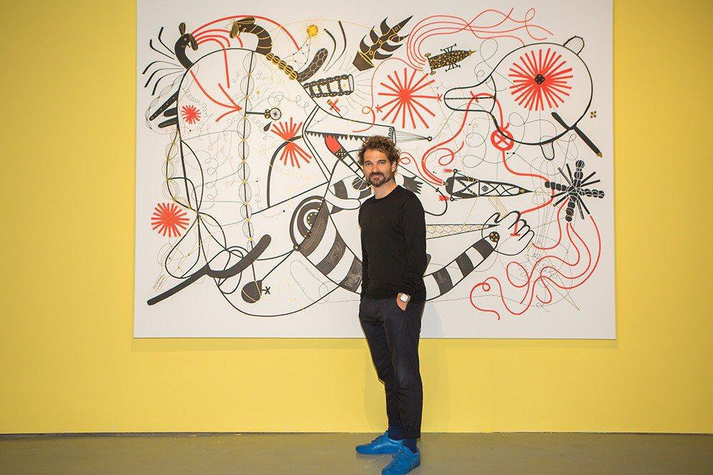 西班牙設計師亞米‧海因。圖:時藝多媒體提供。