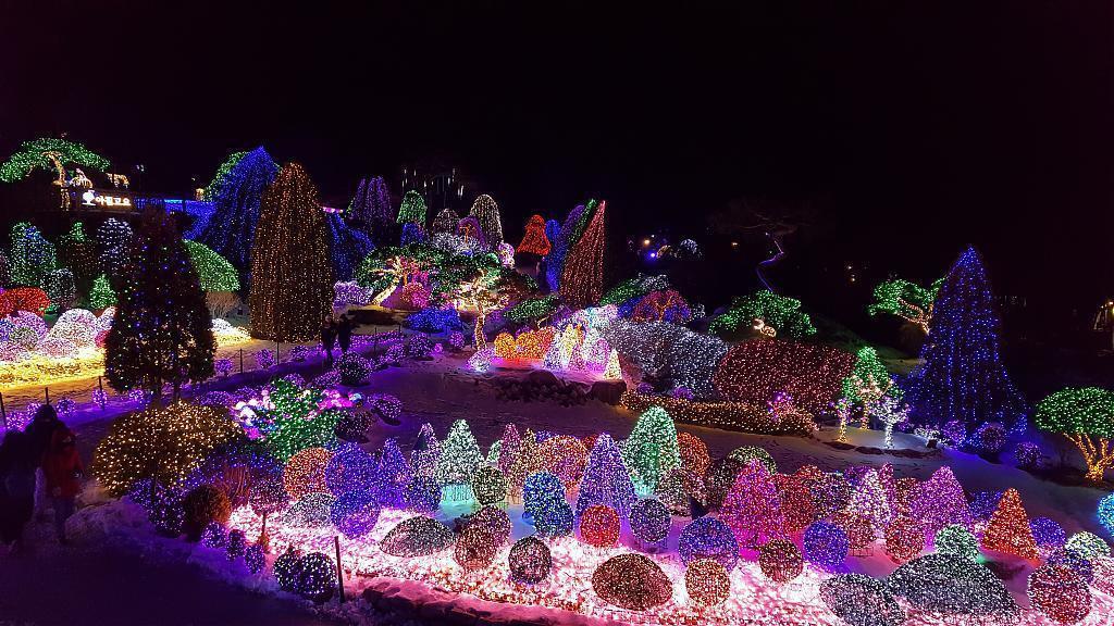 ▲首爾晨靜樹木園燈節。(圖/Tripbaa趣吧!達人帶路)