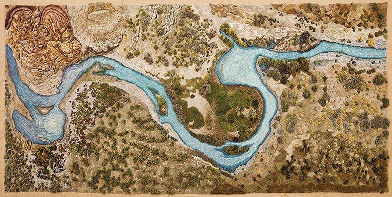 「Santa Cruz River 」靈感來自阿根廷河流即將因人為開發而遭受破壞...
