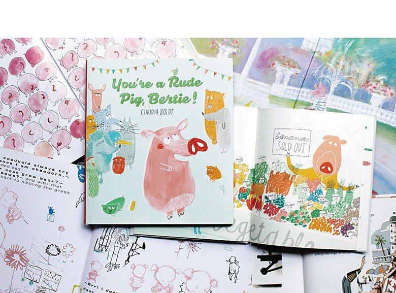 收錄於《動物們的讀書會:繪本職人的閱讀地圖》內,由Claudia Boldt創作...