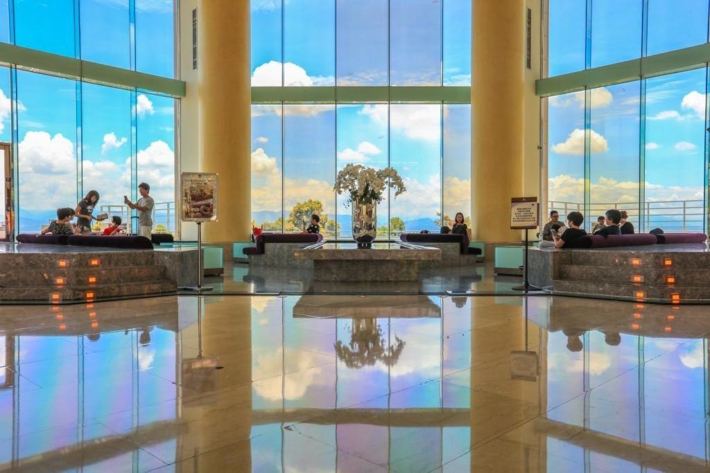 清新溫泉飯店招待大廳。圖/清新溫泉飯店提供