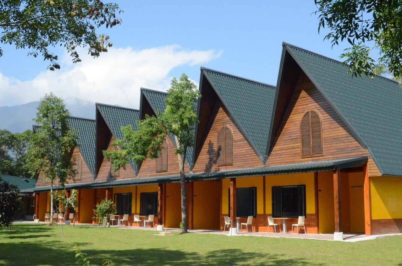 瑞雄溫泉庭園小木屋。圖/瑞雄溫泉旅館提供。