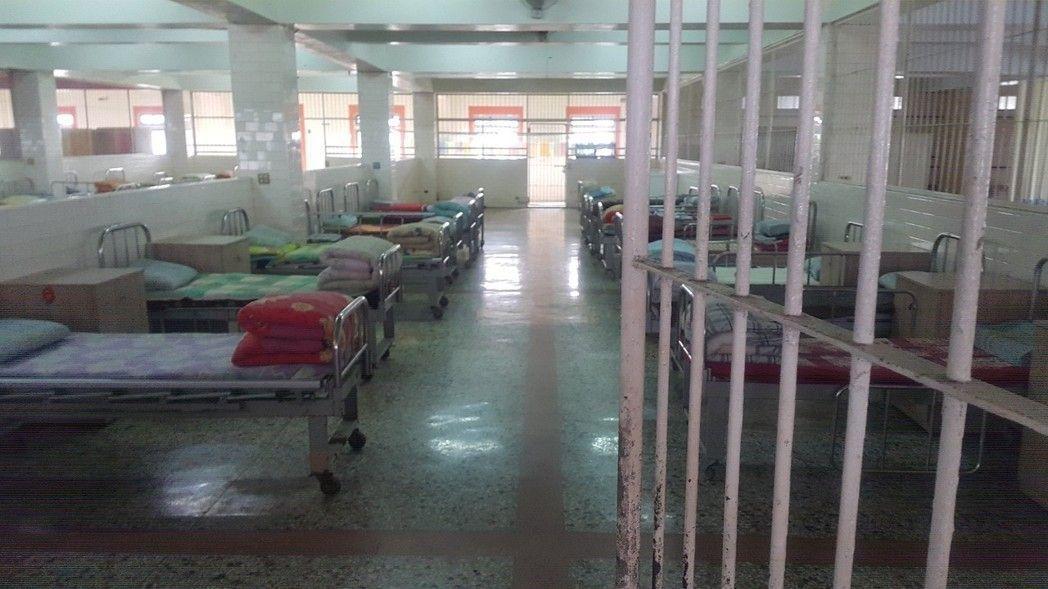 圖為龍發堂療養院2樓寢室。聯合報系資料照