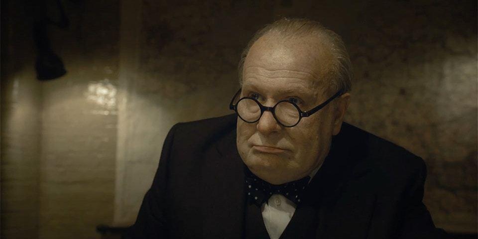 甫獲金球獎影帝的蓋瑞歐德曼再次以「最黑暗的時刻」入圍英國奧斯卡影帝。圖/摘自推特