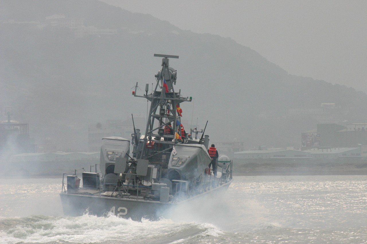 海軍過去已退役的海鷗級飛彈快艇。記者洪哲政╱攝影