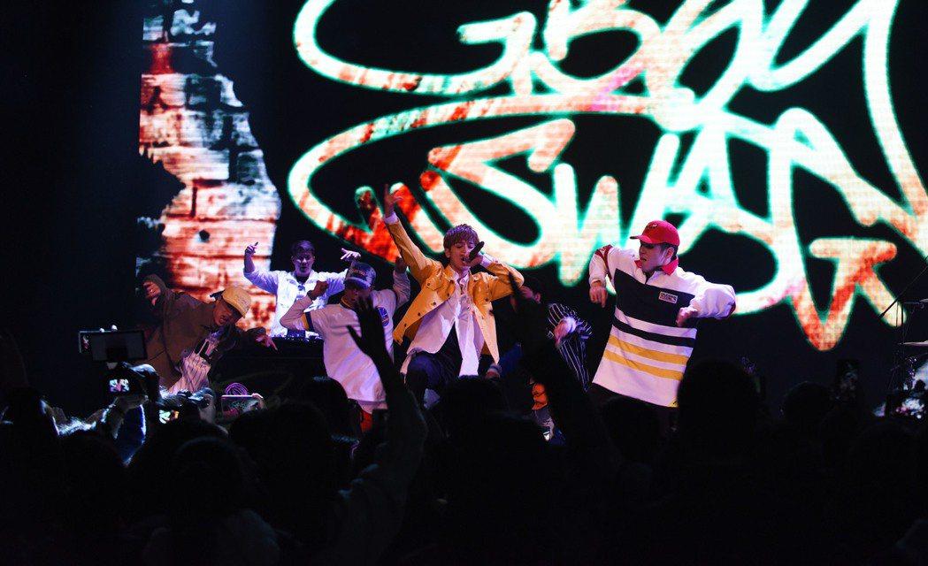 鼓鼓上海首辦個人售票演唱會。圖/相信音樂提供