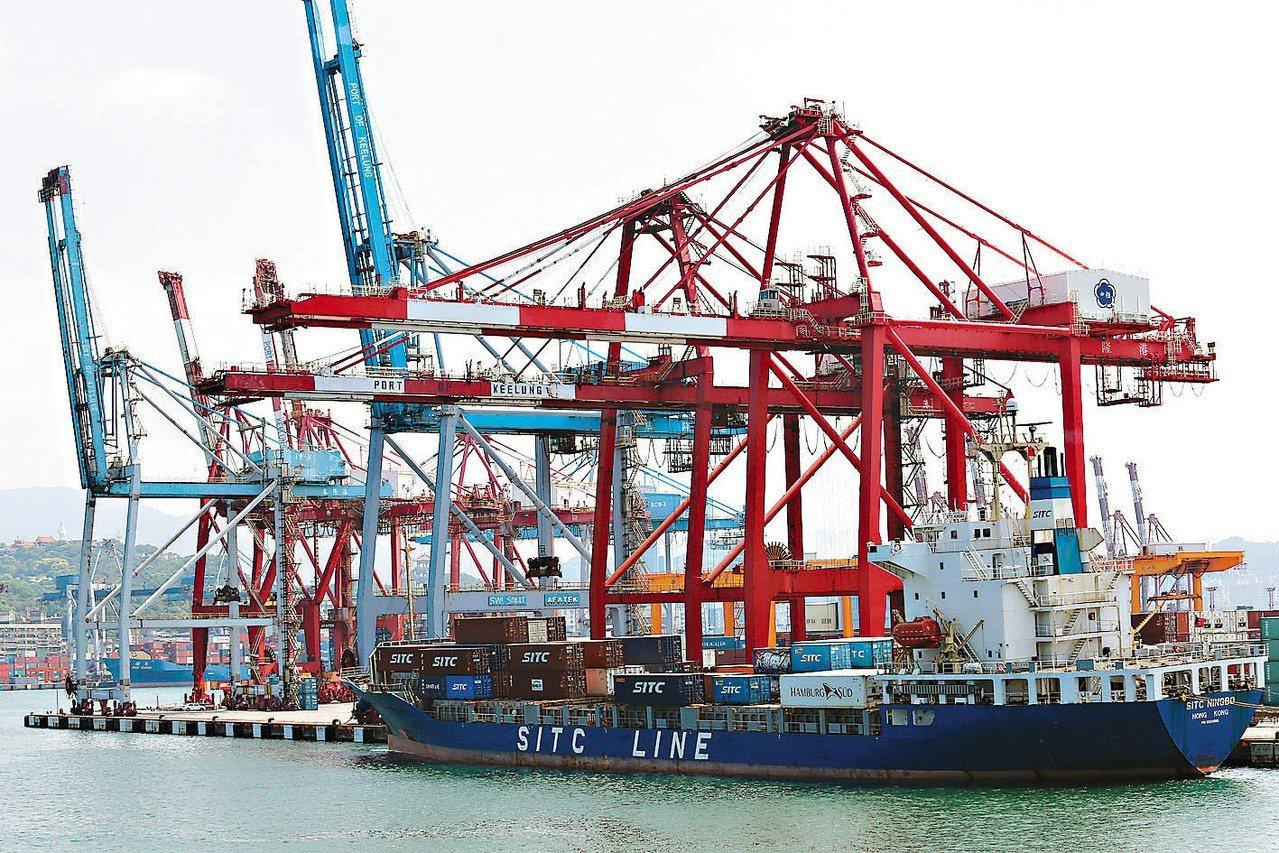 財政部昨(8)日公布海關進出口貿易最新統計