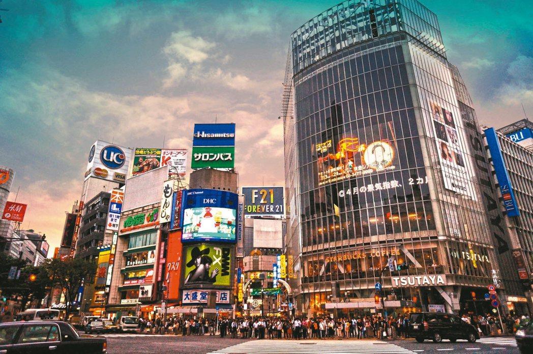國人近一年赴日置產更積極。圖為日本澀谷街景。 圖/第一太平戴維斯提供