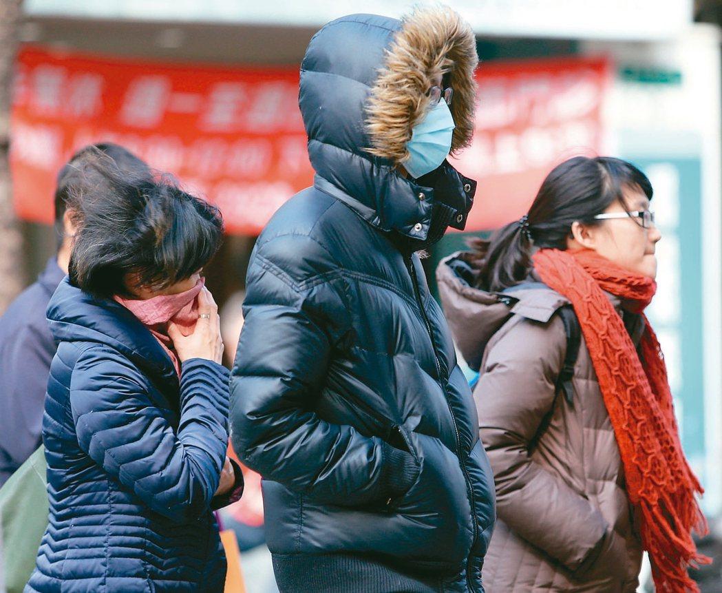 今年流感流行期較往年來得更早,醫師提醒民眾不要輕忽。 報系資料照