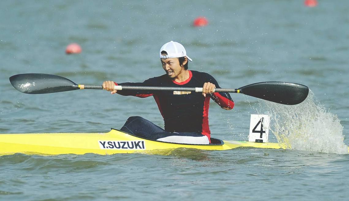 圖為輕艇選手鈴木康大,覬覦奧運出賽代表權,竟不惜在競爭對手的飲料中投放禁藥。 圖...