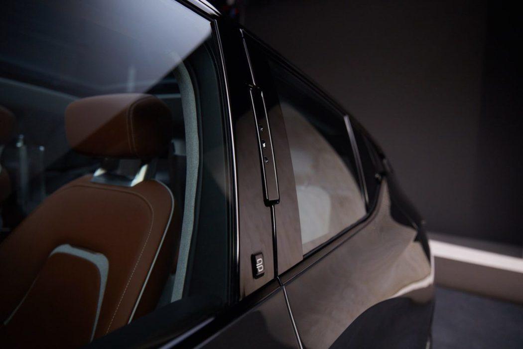 Byton可以透過臉部辨識系統來進行來開關車門。 圖/Byton提供
