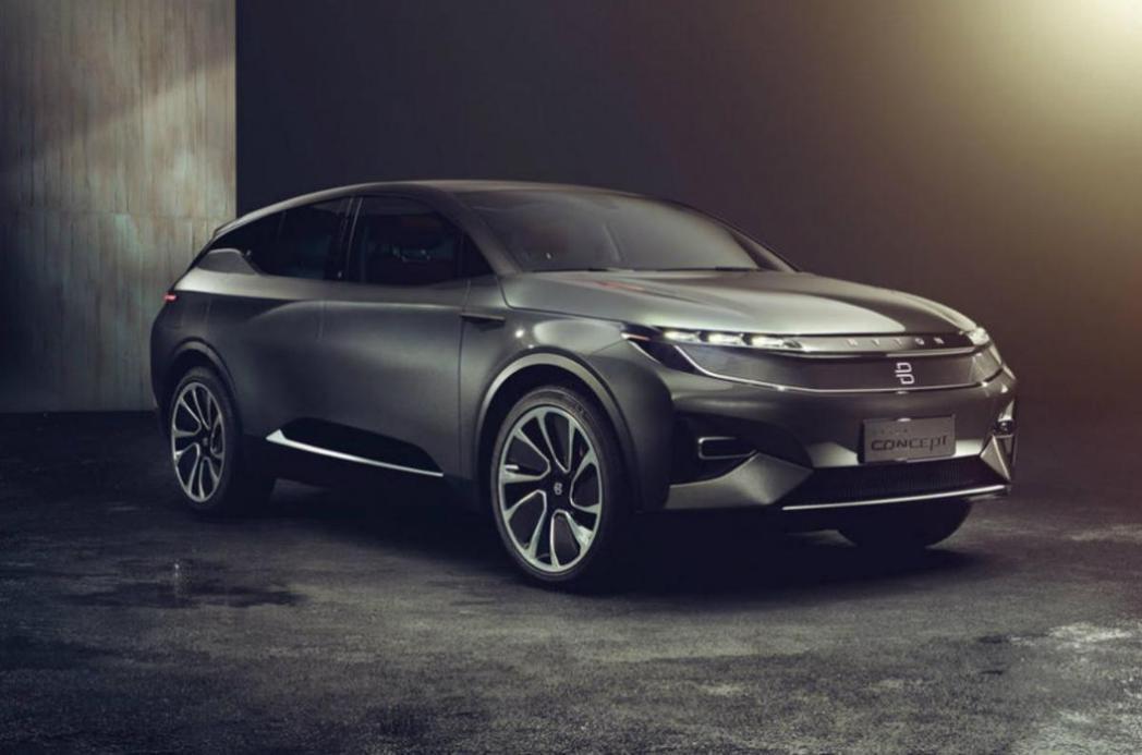 來自中國大陸的Byton發表號稱足以與Tesla Model X抗衡的電動SUV概念車。 圖/Byton提供