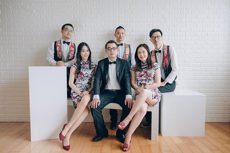 透過音樂,阿比百樂團希望大埔腔客家歌謠能讓更多人認識。 【圖・黃鎮炘】