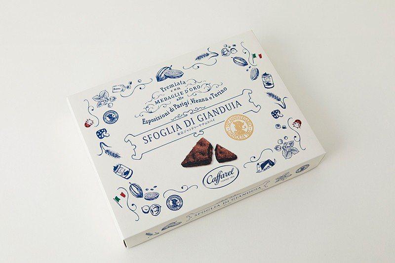 東京ジャンドゥーヤチョコパイ(東京榛果巧克力派)¥648/4入/來自義大利...