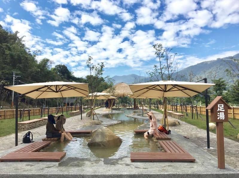 寶來溫泉公園去年底才開放。圖/翻攝自高雄旅遊網