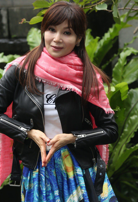 蔡秋鳳專訪。記者林俊良/攝影