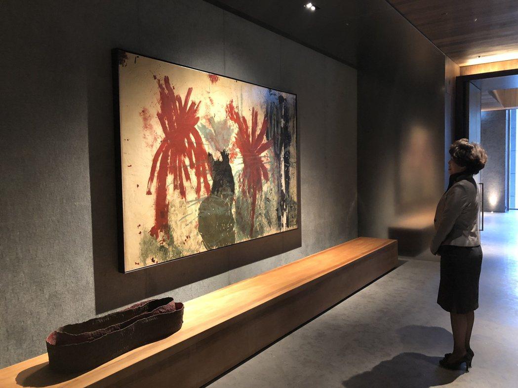 既然是美術館,藝術品在「大恆」就成了主角。記者宋健生/攝影