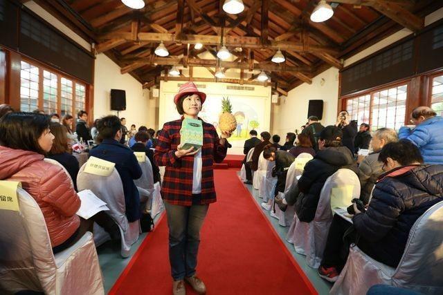 農村女力業者代表陽光果子堂負責人鄭蕙玲。 中衛/提供