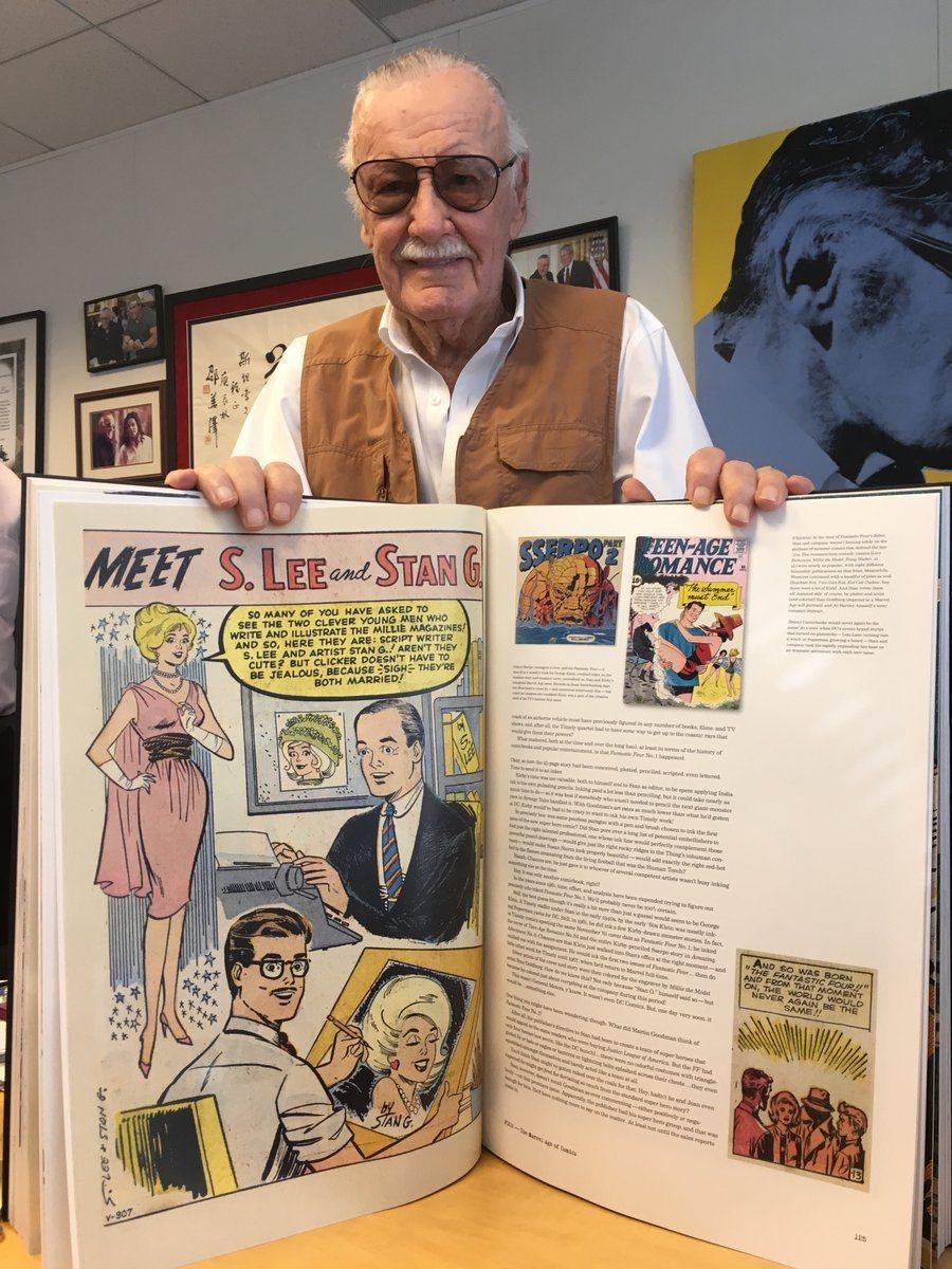 九旬高齡「美國漫畫教父」史丹李被控在洛杉磯豪宅性侵護士。圖/摘自IG