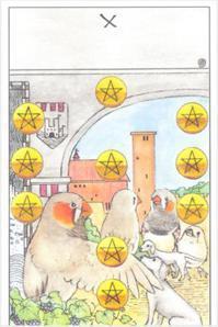 A:化干戈為玉帛(錢幣十正位)。